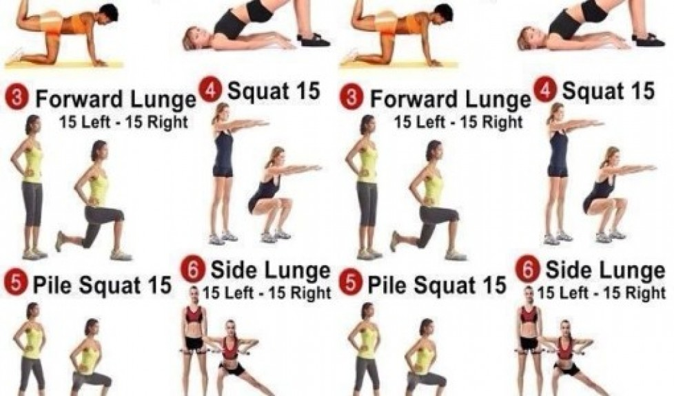 Workout Women Abs Ab Arm Toning Exercises